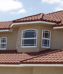 metal tile roof
