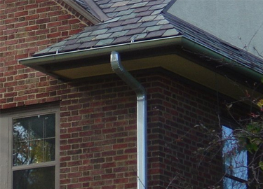 Galvanized Steel Gutters By Value Added Building